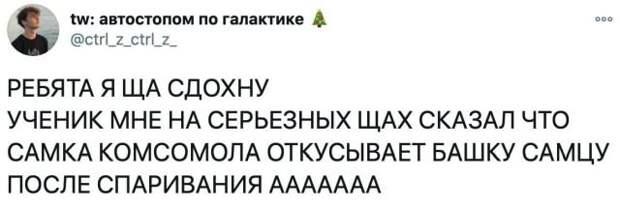 твит про комсомол