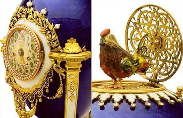 Фаберже: императорские яйца в анфас и в профиль