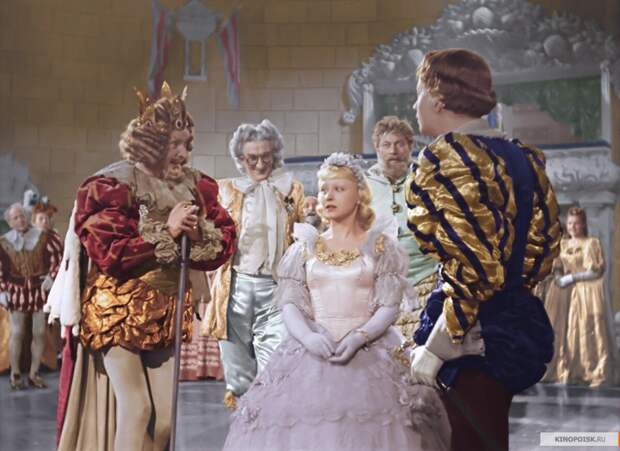 Янина Жеймо в роли Золушки, 1947 год