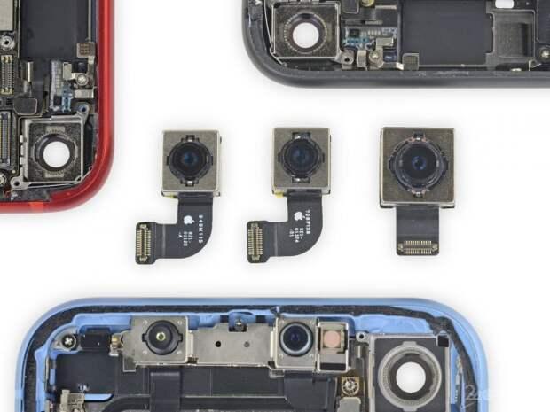 Некоторые детали iPhone 8 можно использовать при ремонте iPhone SE