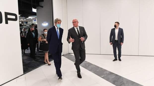 Встреча Дмитрия Чернышенко со специальным представителем Президента США по вопросам климата Джоном Керри