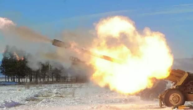 В ДНР заявили, что ВСУ обстреляли жилой посёлок из орудий калибра 122 мм