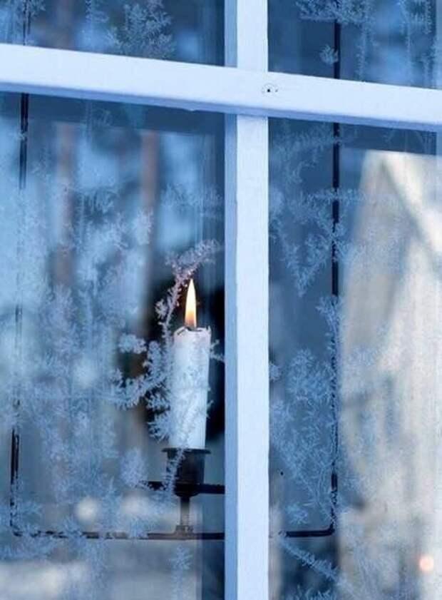 Помните как в детстве замерзали окна, и получались самые красивые узоры?!