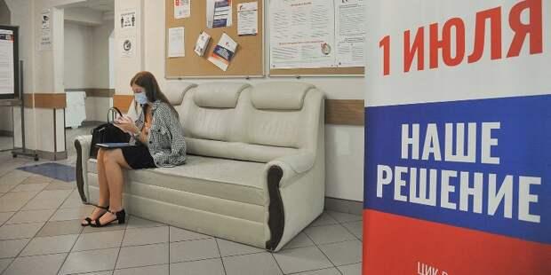 Санитарные меры соблюдаются на участках голосования по Конституции