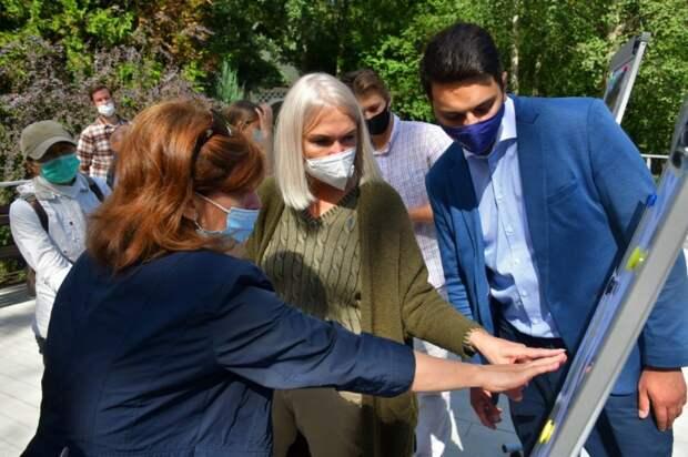 Ирина Белых: «Название монумента на аллее «Подвиг врачей» выберут москвичи»
