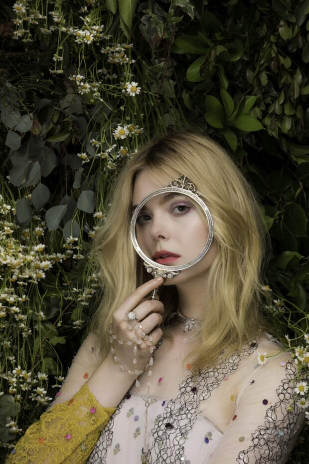 Elle Fanning for Vanity Fair Italia