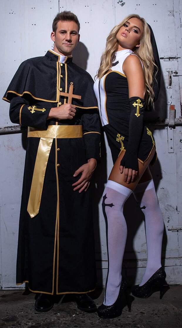 Девушки в нарядах к Хэллоуину (25 фото)