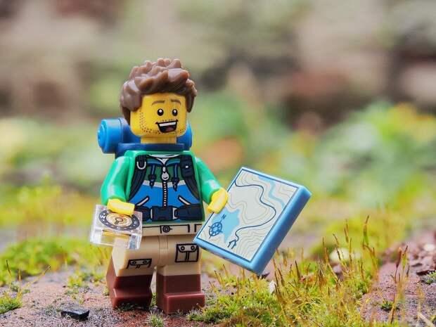 Hiker, Уокер, Рамблер, Lego, Прогулка, Исследовать