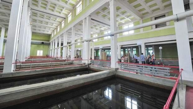 Собянин рассказал о реконструкции Люберецких очистных сооружений. Фото: mos.ru