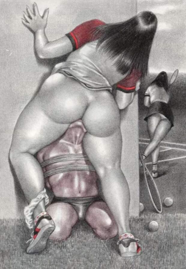 Женское доминирование впровокационных карикатурах, откоторых непосебе