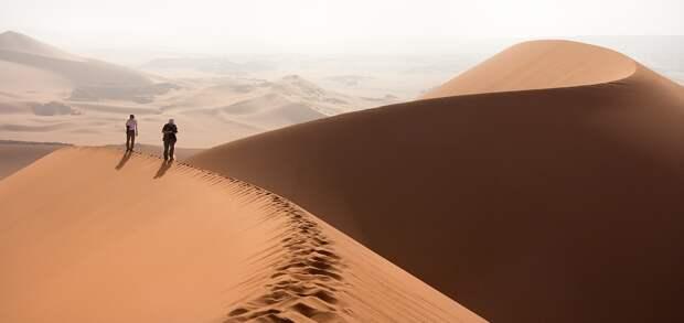 Дюна Тин Мерзуга в пустыне Сахара