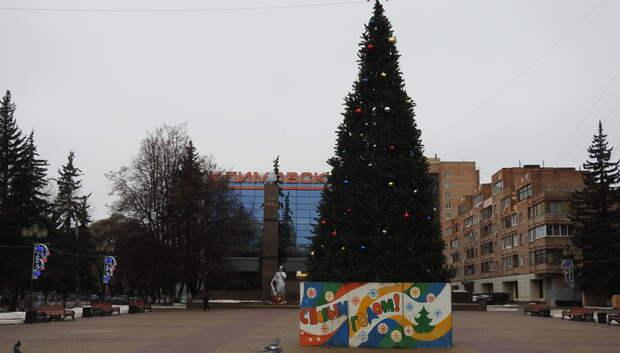 Более 20 елок установят в Подольске к Новому году