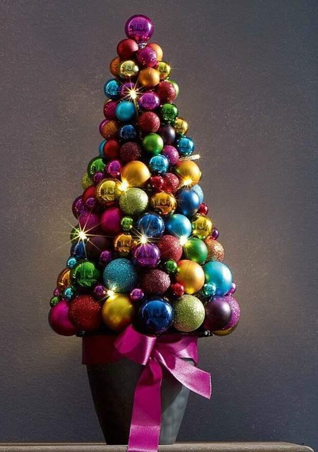 Небанальный новогодний декор, который точно привлечет внимание