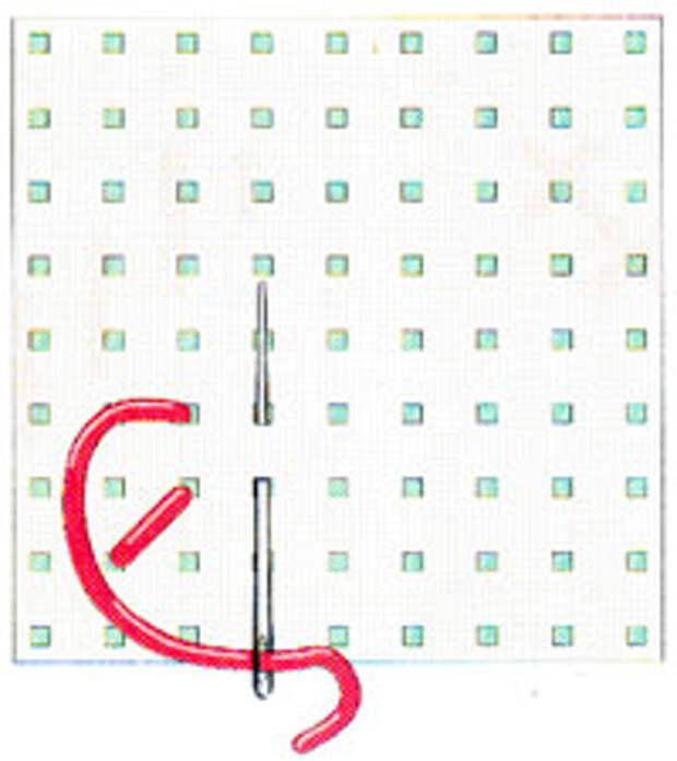 Вышивка крестиком по диагонали. Простая диагональ (фото 2)