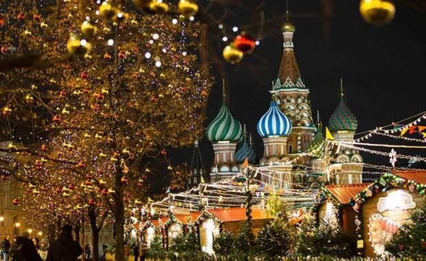 Киев-Москва: Какой же Новый год без Красной площади