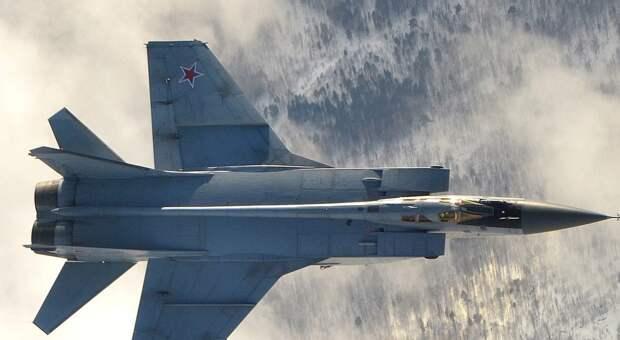 Россия перебросила на Новую Землю истребители МиГ-31БМ
