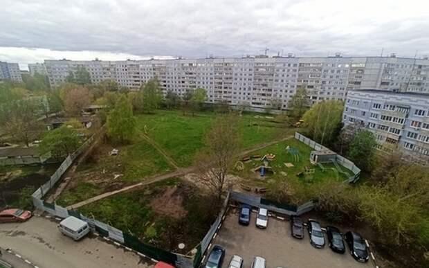 В Канищеве огородили участок для постройки яслей