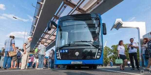 Работу электробуса №536 в Ростокине проверят специалисты Дептранса