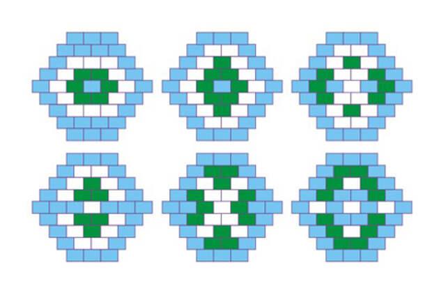 Схема бусин из бисера
