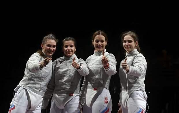 Российские саблистки стали первыми на Олимпиаде в Токио
