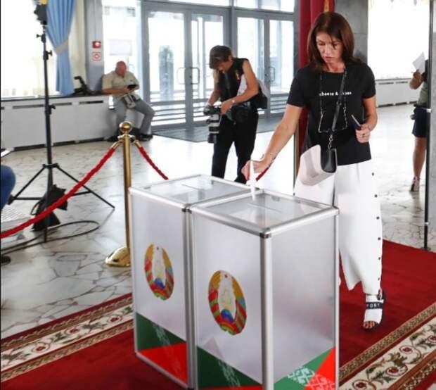 ЦИК Белоруссии огласил предварительные итоги выборов