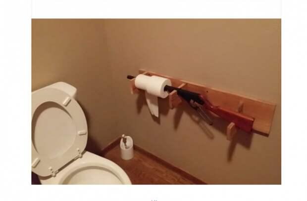Туалет реднека?