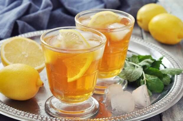 БЕЗАЛКОГОЛЬНЫЕ НАПИТКИ. Холодный чай с эстрагоном