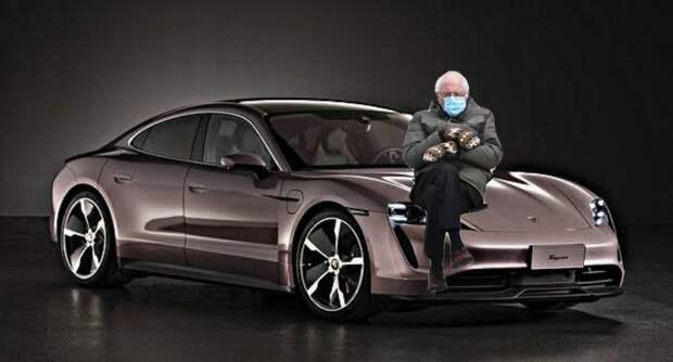Porsche привезла в Россию «бюджетную» версию Taycan.