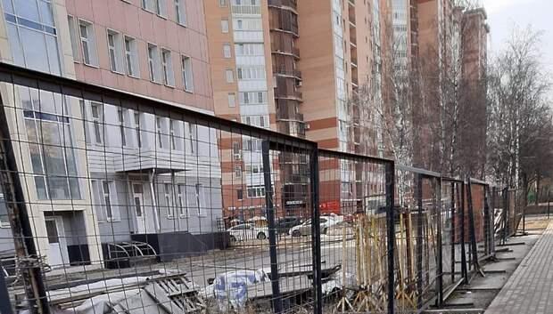 Недостроенную поликлинику на Ленинградской улице передадут Мособлимуществу