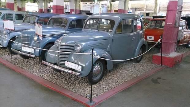 КИМ-10-50 — первый советский серийный малолитражный автомобиль автомобили, москвич, фоторепортаж