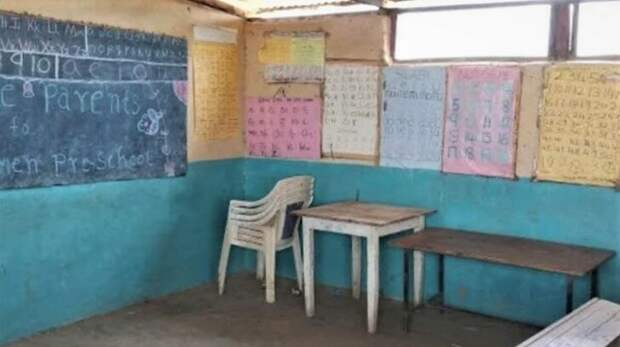 Класс в школе. Фото https://vk.cc/c0V5P5