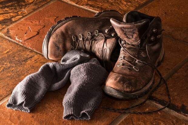 Сапоги, Обувь, Рабочая Одежда, Носки, Кожа, Пара