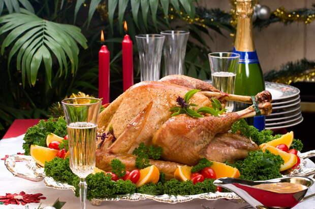 Рождественский и новогодний стол при диабете - табу
