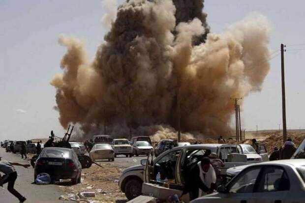 Наемники и офицер ВС Турции погибли при мощном взрыве на базе ПНС в Ливии