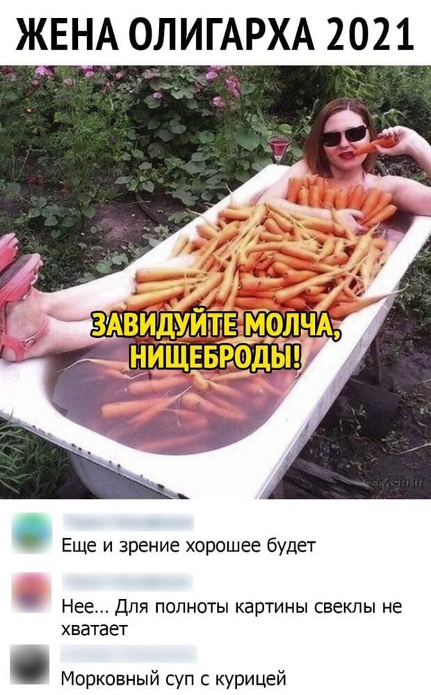 На рынке: — Скажите, чем Вы кормили своих индюшек?...