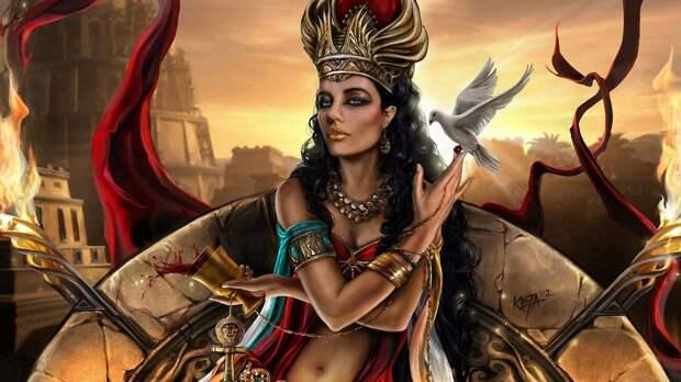 Какая роль была у жриц богинь любви