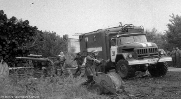 Пожарные «Царь-Пушки» или главный калибр Московского гарнизона.