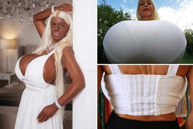Стало известно, кто является обладательницей самой большой груди в мире (ФОТО)