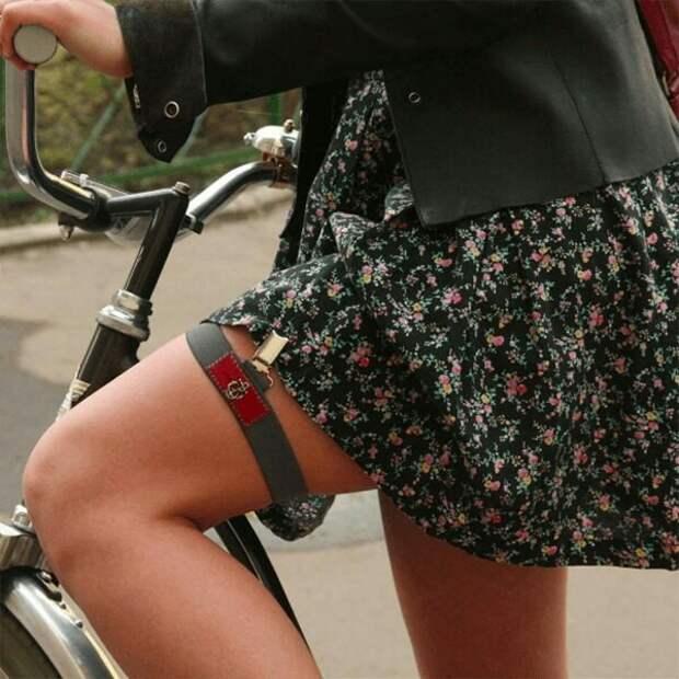 Велосипедисткам