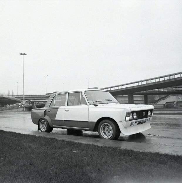 Фиат 125р для гонок созданный в Польше авто, автоистория, автоспорт, ваз, гонки, гоночные автомобиль, жигули, ралли