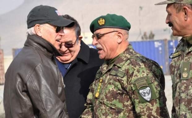 СМИ: Байден небудет выводить все войска США изАфганистана