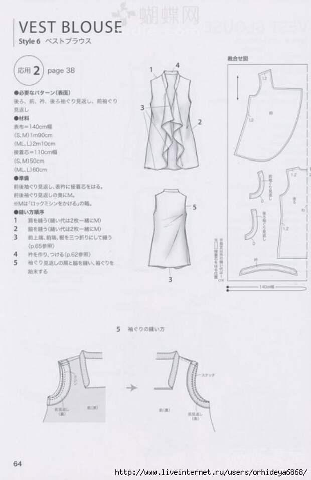 Простые выкройки стильной одежды (трафик)