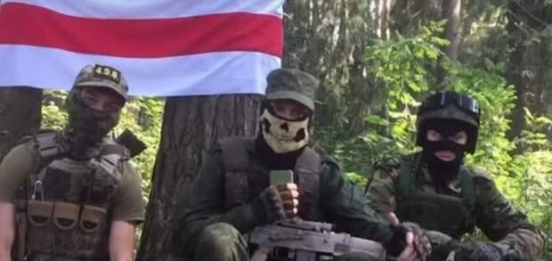 ОМОН Беларуси задержал партизан с украинской символикой