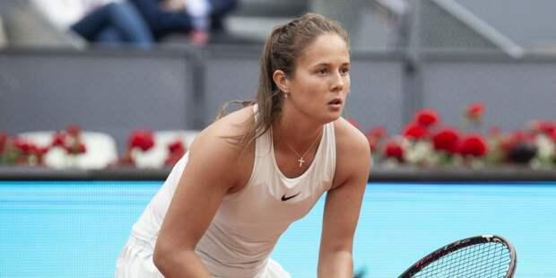 Касаткина прошла в следующий круг теннисного турнира