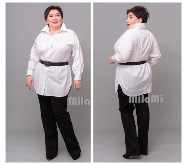 """Фото 6 - брюки + белая рубашка """"MilaMi""""."""