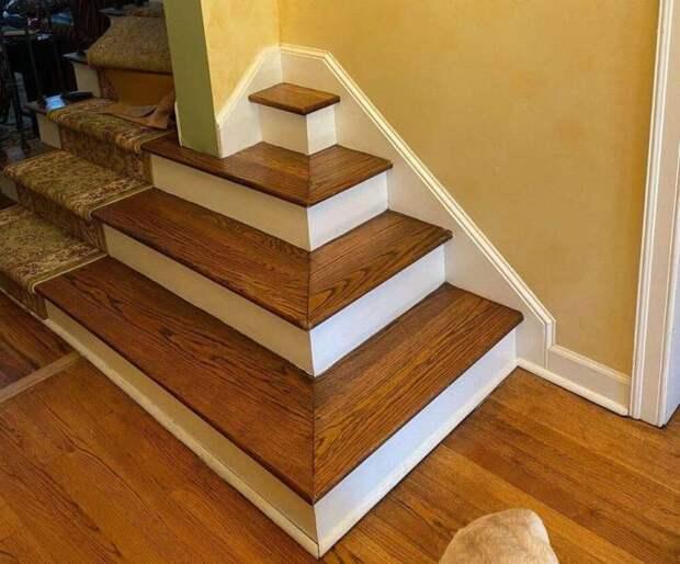 Необычный дизайн лестницы