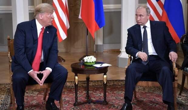 Путин прилюдно унизил выскочку Трампа