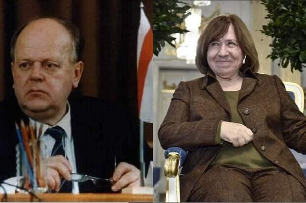Шушкевича и Алексиевич исключили из учебника по истории Белоруссии