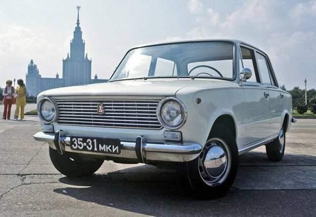 ВАЗ-2101 «Копейка» празднует 51-й день рождения