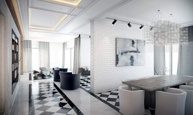 Картинки по запросу Белый декоративный кирпич в интерьере